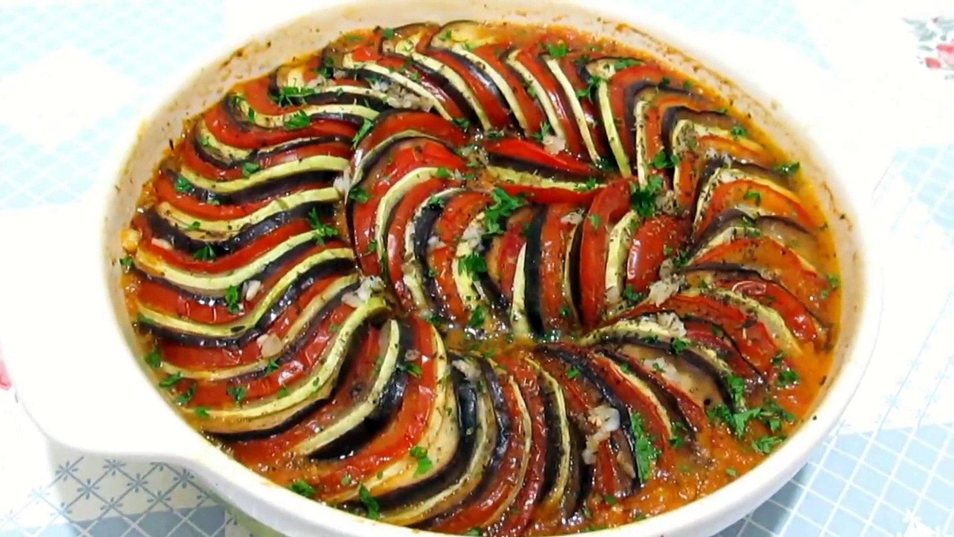 #Вкусно - РАТАТУЙ Запеченные Овощи Овощной Тиан Как приготовить #РАТАТУЙ Рецепт