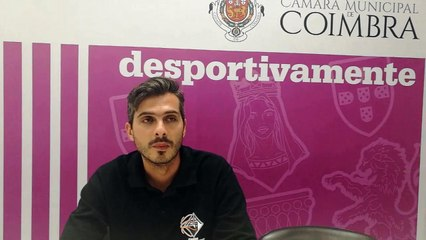 Prof. Ivo Rego,  antevisão meia final troféu António Pratas.
