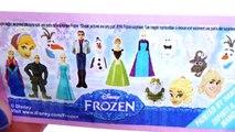 Anna e Elsa Frozen Peppa Pig Princesas Disney Ovos Surpresas Surprise Eggs Brinquedos. Em Português