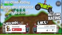 Hill Climb Racing: Garage BIG MONSTER (Fully upgraded) GamePlay