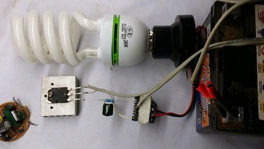 How To Make Easy Inverter Circuit 12v Dc For Fluorescent