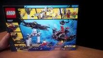 LEGO Batman Black Manta Deep Sea Strike Set 76027 DC Comics Review
