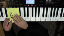 Reading Treble Clef and Bass Clef Notes and Find Them On Piano - Learn to Play Piano Lesson 4