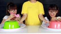 Real Food VS Gummy Food! Gross Giant Candy Challenge Best Chef Mommy Or Daddy Episode 2