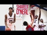 Shareef O'Neal Junior Year FULL HIGHLIGHTS - Shaq's Son Has All The Tools To Be GREAT!