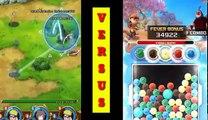 BoBoiBoy kuasa 7 vs Naruto shipuden | Seru dan Keren!