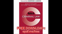 Concentrate Questions and Answers Criminal Law Law Q&A Revision and Study Guide (Concentrate Law Questions & Answers)