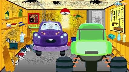СБОРНИК: Трактор Павлик - Пожарная машинка тушит пожар - Развивающие видео для детей