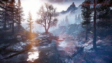 Horizon Zero Dawn The Frozen Wilds Environment Trailer
