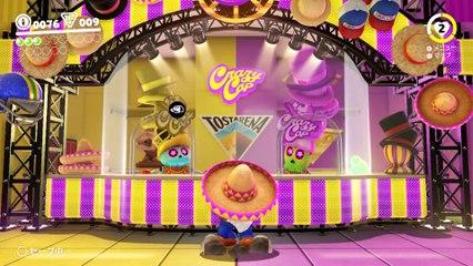 Super Mario Odyssey 'Game Center DX' gameplay