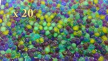 DIY How To Make Orbeez Colors Magic Growing Water Balls Learn Colors Slime Clay