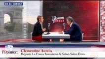 Clémentine Autain: «Les militants insoumis sont désarçonnés» par les affaires Raquel Garrido