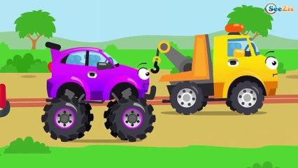 Мультфильмы для Детей про Машинки - Трактор Павлик едет и везет сюрпризы