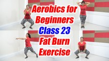 Aerobics for beginners - Class 23 | Step aerobics to burn fat | Boldsky