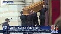 Les proches de Jean Rochefort sont venus lui rendre hommage à l'église Saint-Thomas d'Aquin à Paris