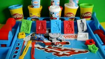 Play-Doh Thomas And Friends Work Station Thomas The Tank Engine James Percy Playdough creations