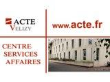 Acte Vélizy, centre de services-affaires situé à Vélizy-Villacoublay, dans les Yvelines.