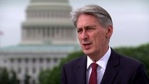 Philip Hammond says UK has bright future after Brexit