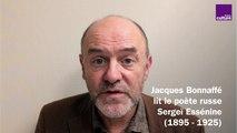 Jacques Bonnaffé lit le poète russe Sergeï Essénine
