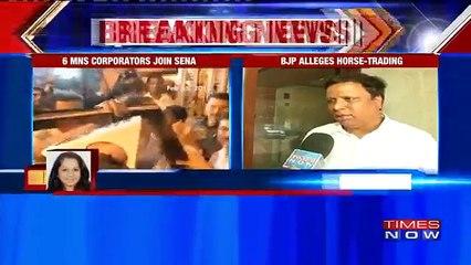 MNS Corporators Join Shiv Sena, BJP Alleges Horse-Trading