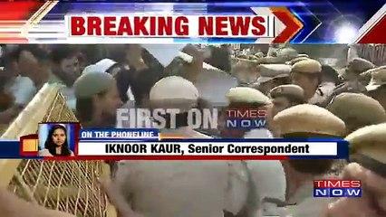 Protest In Delhi Against Missing JNU Student