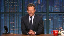 "Seth Meyers Tackles Harvey Weinstein, Donald Trump and ""Systemic Misogyny"" on 'Late Night' 