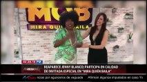 """Jenny Blanco invitada especial de Pablo Montero en """"Mira quién Baila¨"""