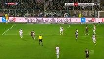1-0 Sami Allagui Goal Germany  2. Bundesliga - 13.10.2017 St. Pauli 1-0 Kaiserslautern