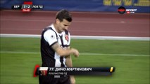 1-2 Dino Martinović Goal Bulgaria  A Grupa  Regular Season - 13.10.2017 Beroe Stara Zagora 1-2...