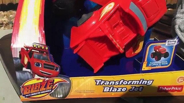 BLAZE and the MONSTER MACHINES Toys Nickelodeon Blaze and the Monster Machines Toy Unboxing Review