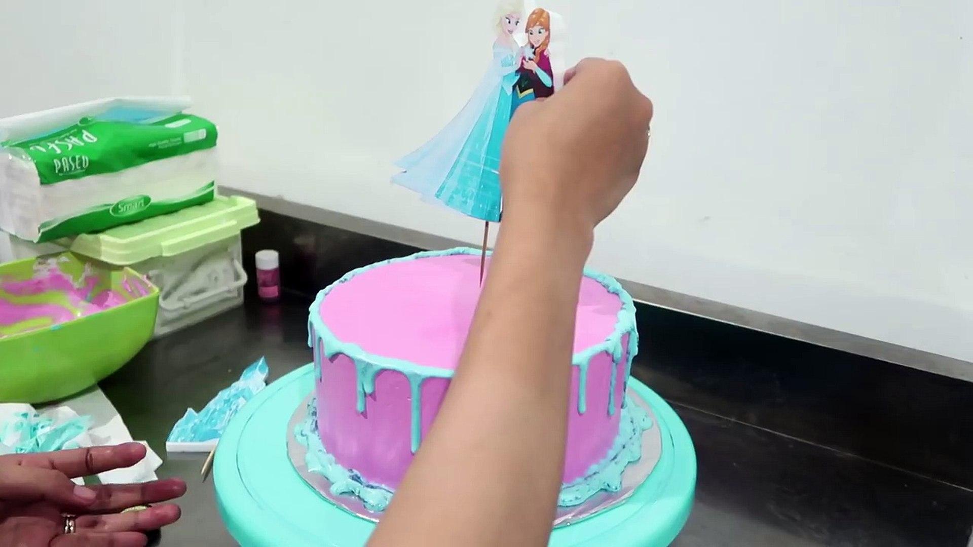 Resep Kue Ulang Tahun Frozen Cake Video Dailymotion