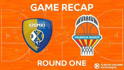 EuroLeague 2017-18 Highlights Regular Season Round 1 video: Khimki 75-70 Valencia