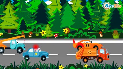 Racing Cars FUN HOT CHALLENGE - Funny Cars TV - Cars & Trucks for Kids