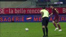 0-5 Lopez Penalty Goal France  Ligue 2 - 13.10.2017 Bourg-Péronnas 0-5 RC Lens