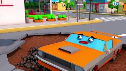 NOVO! Rápido Сaminhão e Trator Para Crianças   Desenhos Animados Carros Bebês Compilação de 20 min