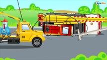 Bruder Tracteur sur la Ferme pour les Enfants. CADEAU - Dessin Animé sur Voitures