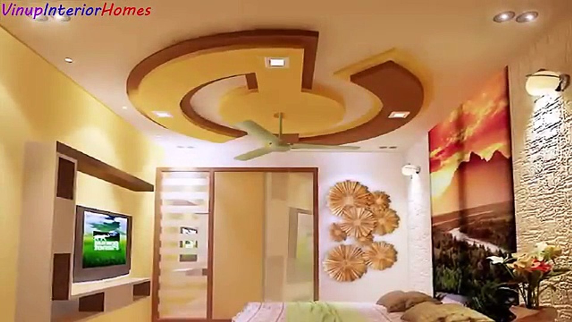 Latest 50 New Gypsum False Ceiling Designs 2017 Ceiling Decorations Living And Bedroom Video Dailymotion