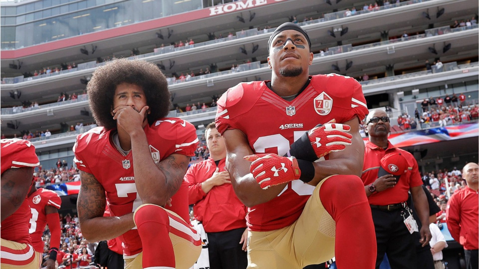 NFL Won't Make Players Stand During Anthem