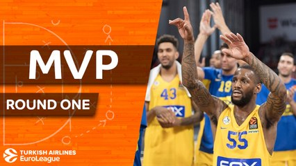 Round 1 MVP: Pierre Jackson, Maccabi FOX Tel Aviv