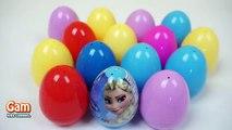 Super Surprise eggs Kinder joy Disney frozen elsa peppa pig superhero toys Learn Colors for kids