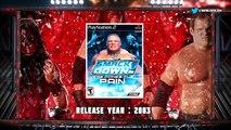UNDERTAKER from WWF SMACKDOWN to WWE 2K16 - Vidéo dailymotion
