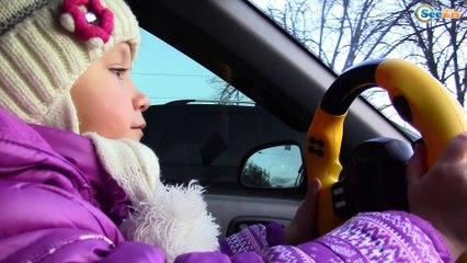 Bad Kids Driving Parents Car - Yaroslava & Little Boy Tiki Taki