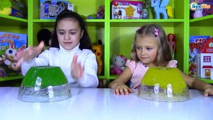 ШОК ЛИЗУН ЧЕЛЛЕНДЖ готовим 2 кг СЛИЗИ Slime Challenge Kids Video Челленджи с детьми