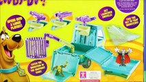 New Scooby-Doo Mystery Machine Trap Time Playset Unboxing Parody Hanna-Barbera - WD Toys
