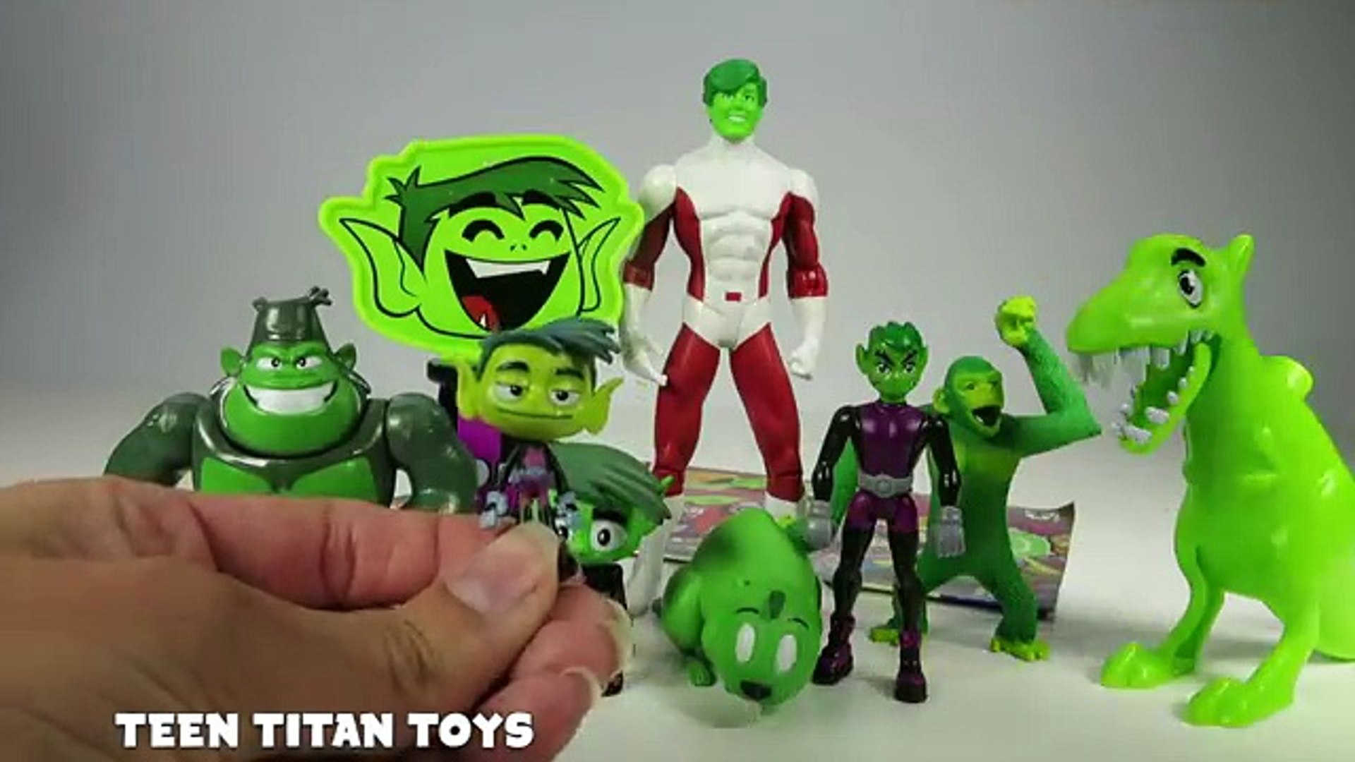 TEEN TITANS TOYS Beast Boy Collection with Teen Titans Go, Original Teen Titans Toys & Pop Chare