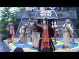 Star Wars Weekend new (Part 2) Hyperspace Hoopla Dance off with the Star Wars Stars