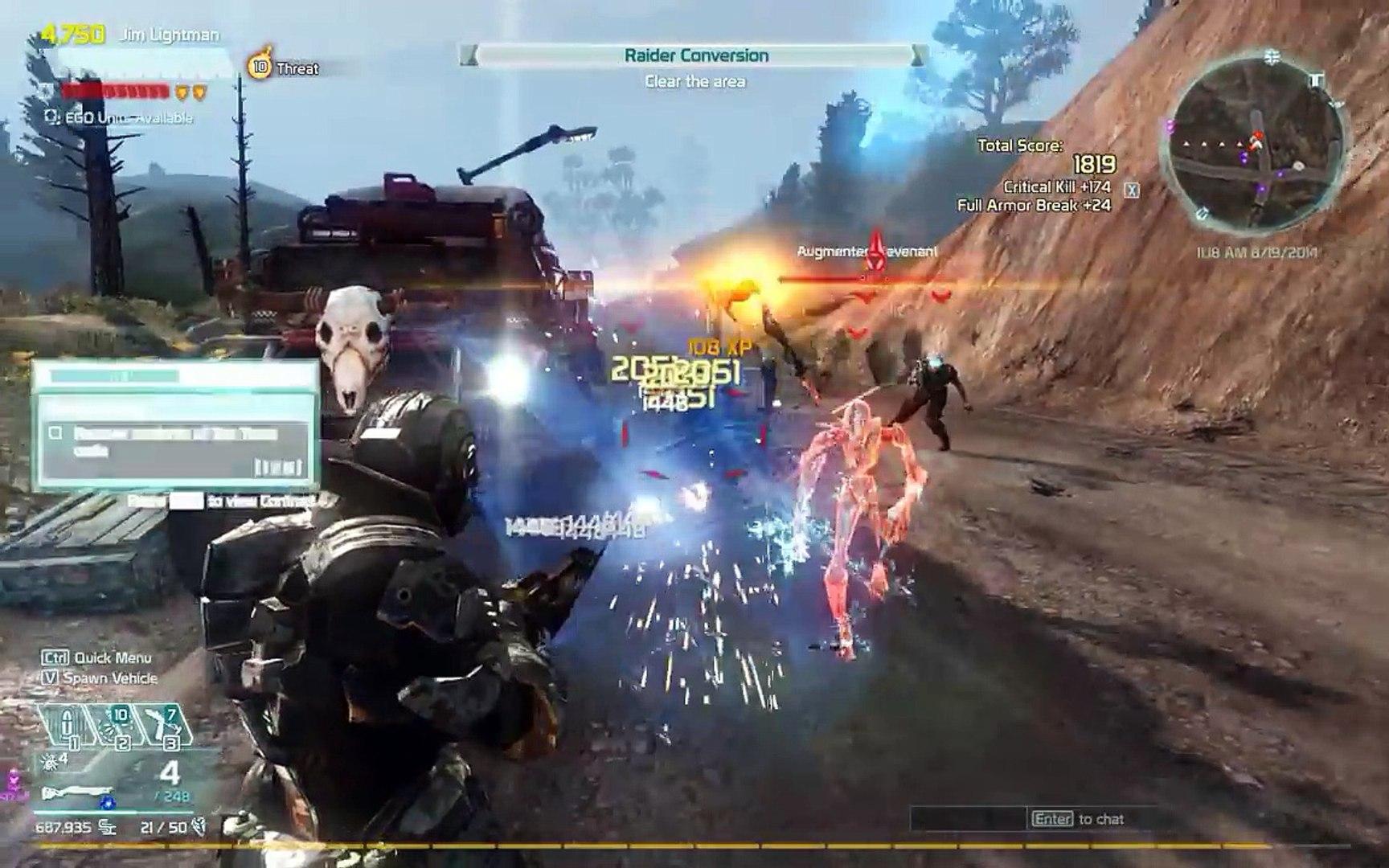 Defiance gameplay - Higher level gameplay