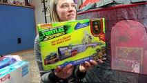 Huge Princess Castle Surprise Toys Opening Hot Wheels Barbie Ninja Turtles Shopkins Kinder Playtime