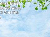Artwizz Neoprene Sleeve mit Retina Display für MacBook Airpro 33 cm 13 Zoll titan