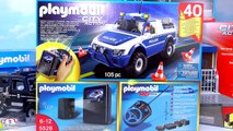 Playmobil City Action Police! SWAT, Police Station, Tical Unit, Police Car with Camera and More!